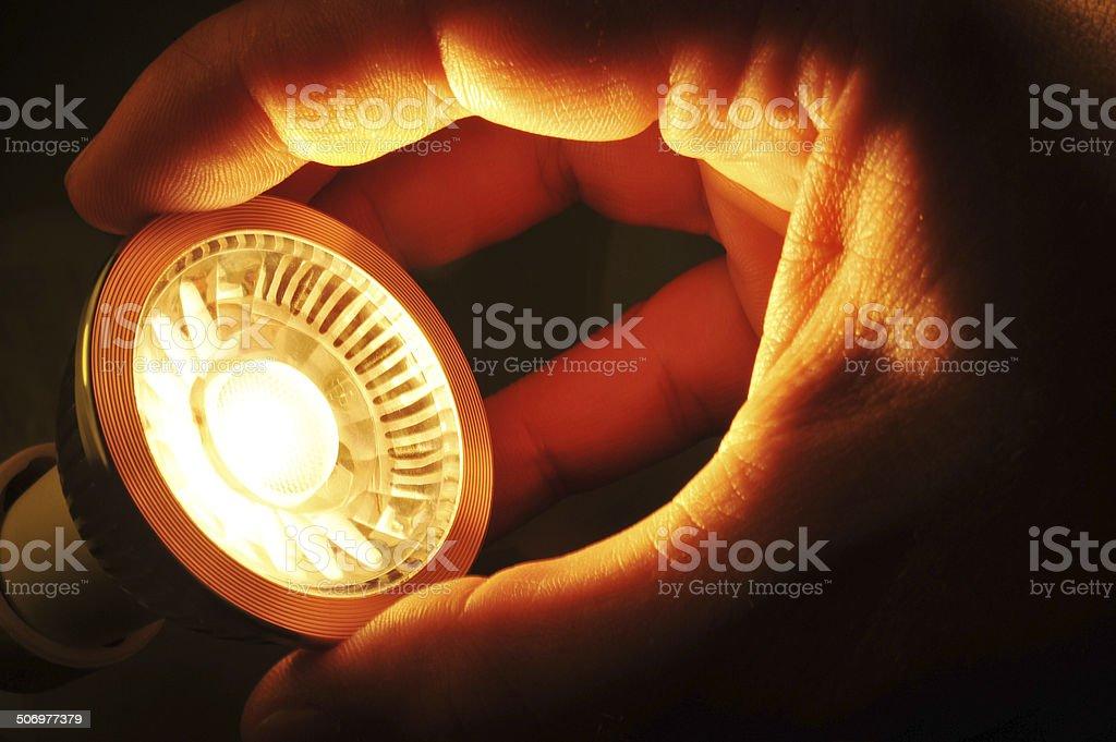 change COB-LED stock photo