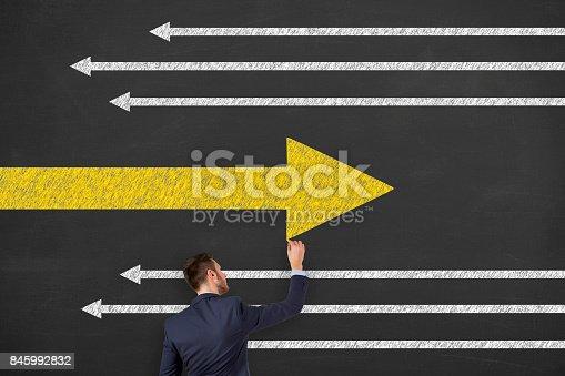 istock Change Contepts on Blackboard 845992832