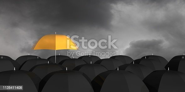 Change different umbrella problem solution concept