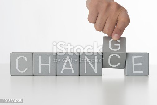 istock Change for a chance 1043228236