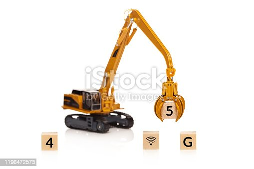1137367258 istock photo Change from 4G to 5G 1196472573