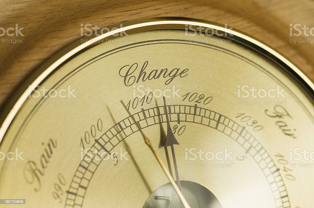 Change in the weather royalty-free stock photo