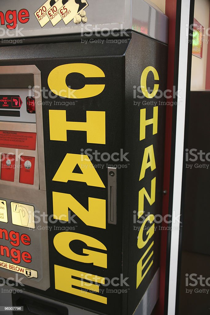 Change Machine royalty-free stock photo