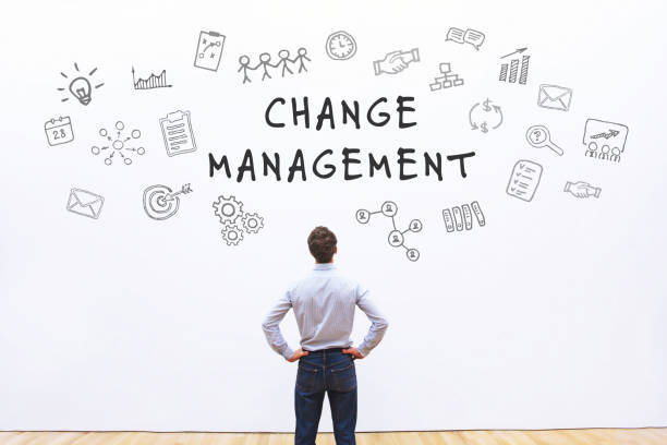 change management concept stock photo