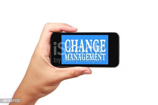 454351815 istock photo Change management 467837122