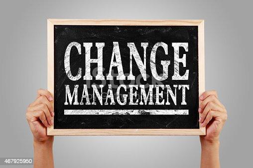 istock Change management 467925950