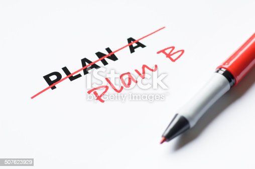 istock Change of plan 507623929