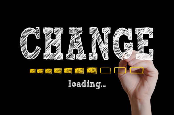 Change stock photo