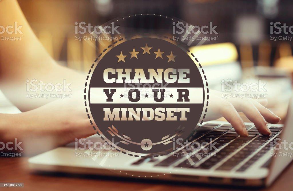 Change Your Mindset stock photo