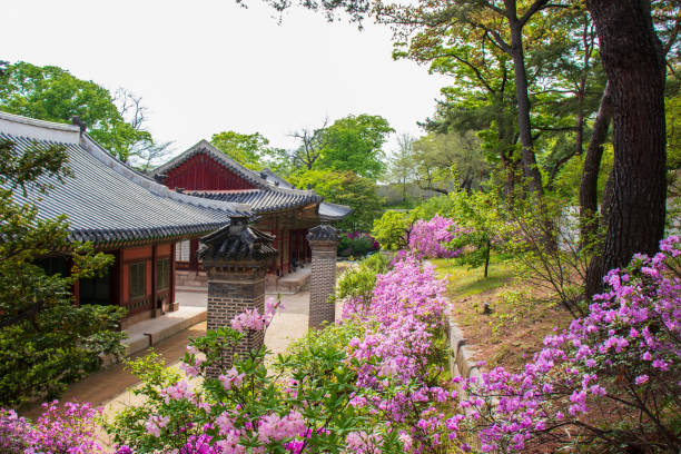 Changgyeonggung Palace stock photo