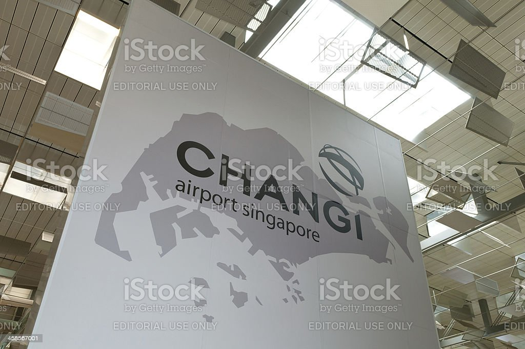 Changi Airport stock photo