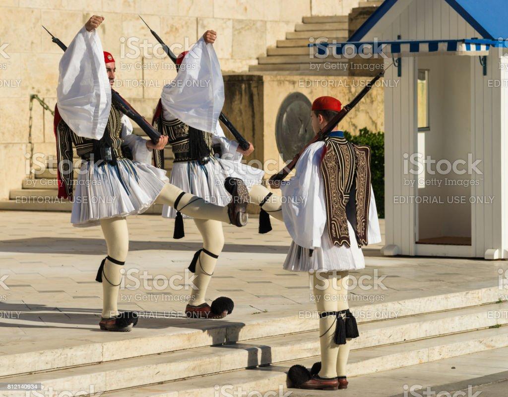 ギリシャアテネのギリシャ議会の...