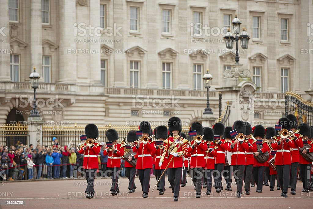 Changing of the Guards ceremony royalty-free stock photo