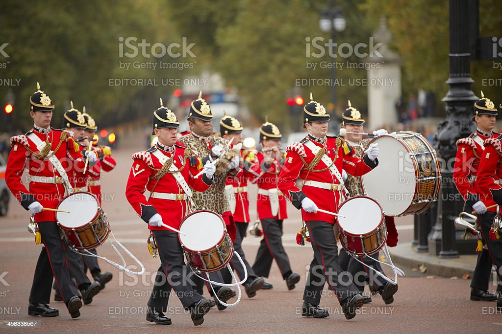 Changing of the Guards ceremony stock photo