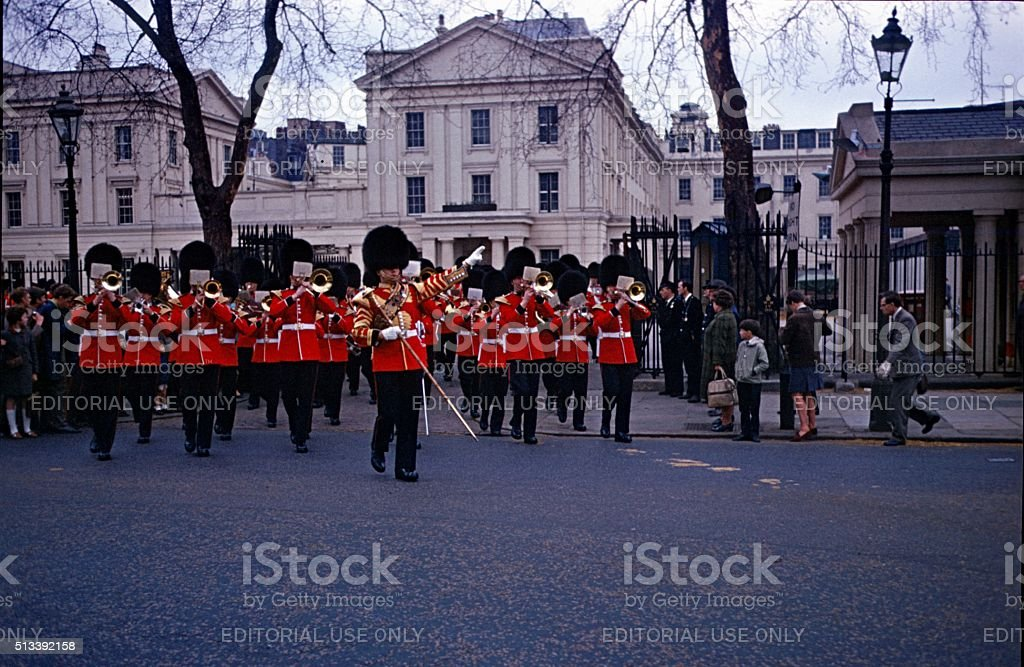 Changing of the Queen's Guard, London stock photo