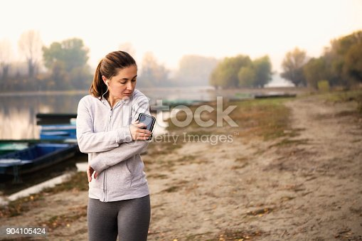 istock Changing playlist for best performance 904105424
