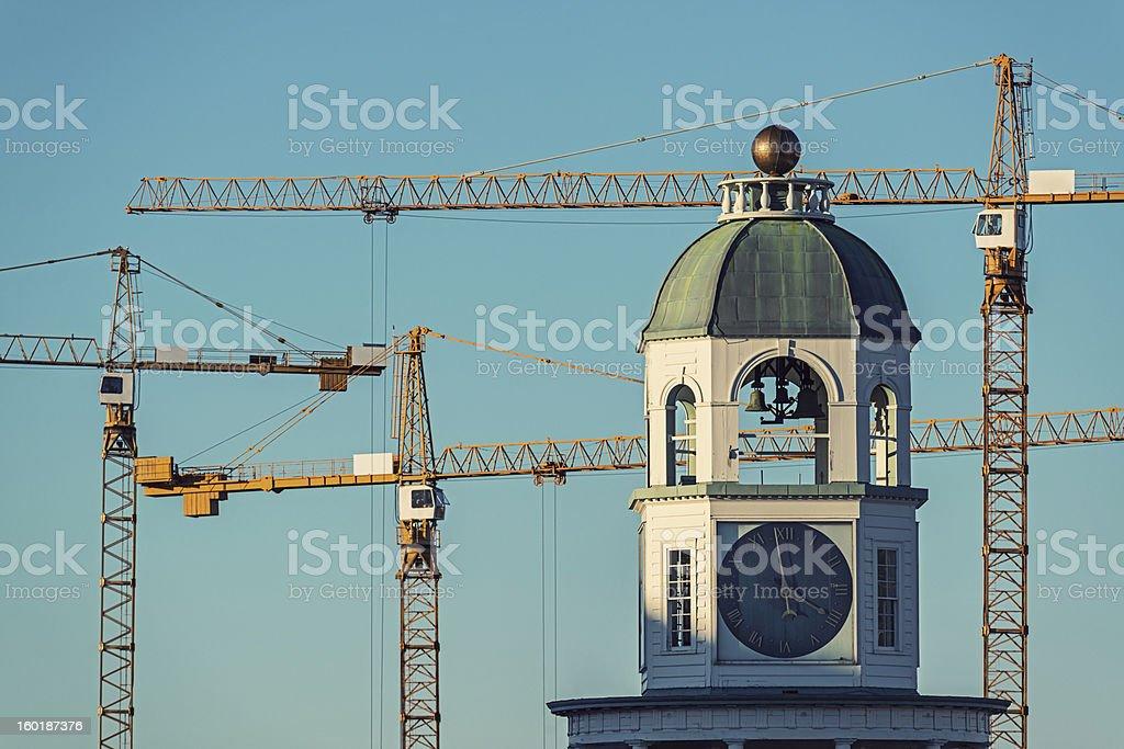 Changing Skyline royalty-free stock photo
