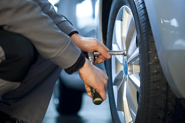Changement des pneus - Photo