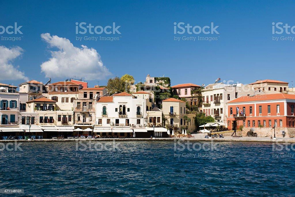 Chania, Crete royalty-free stock photo