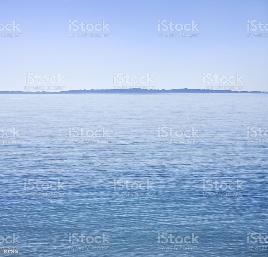 Channel Crossing royalty-free stock photo