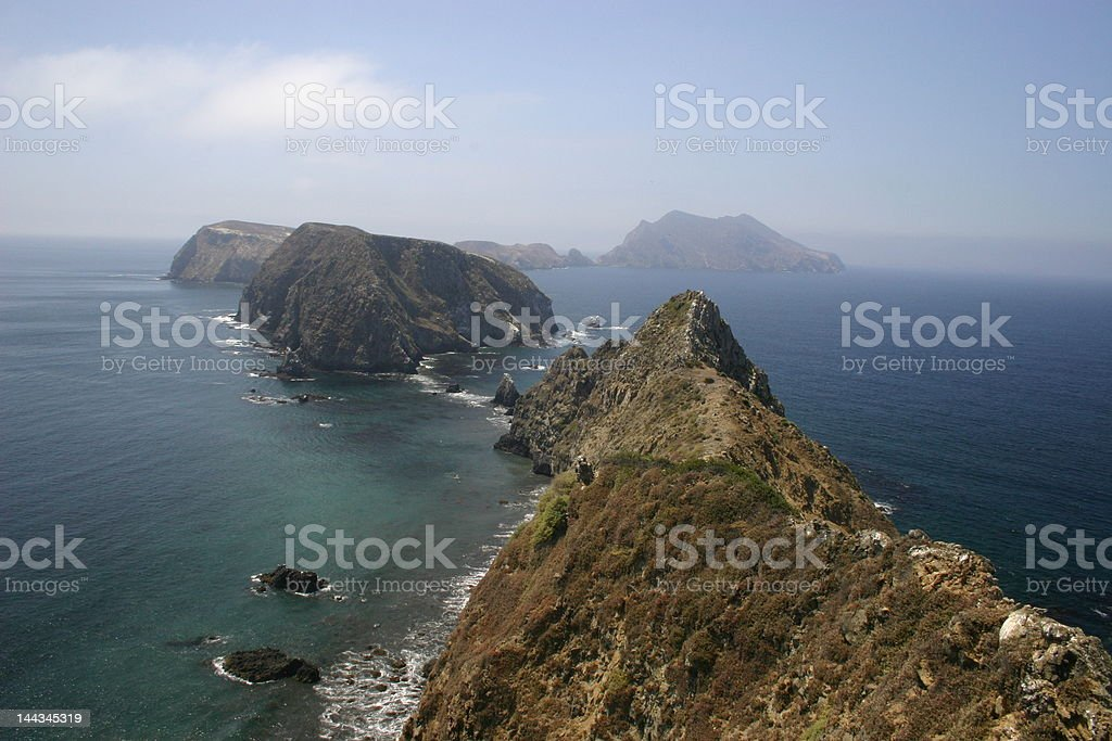 Channel Islands stock photo
