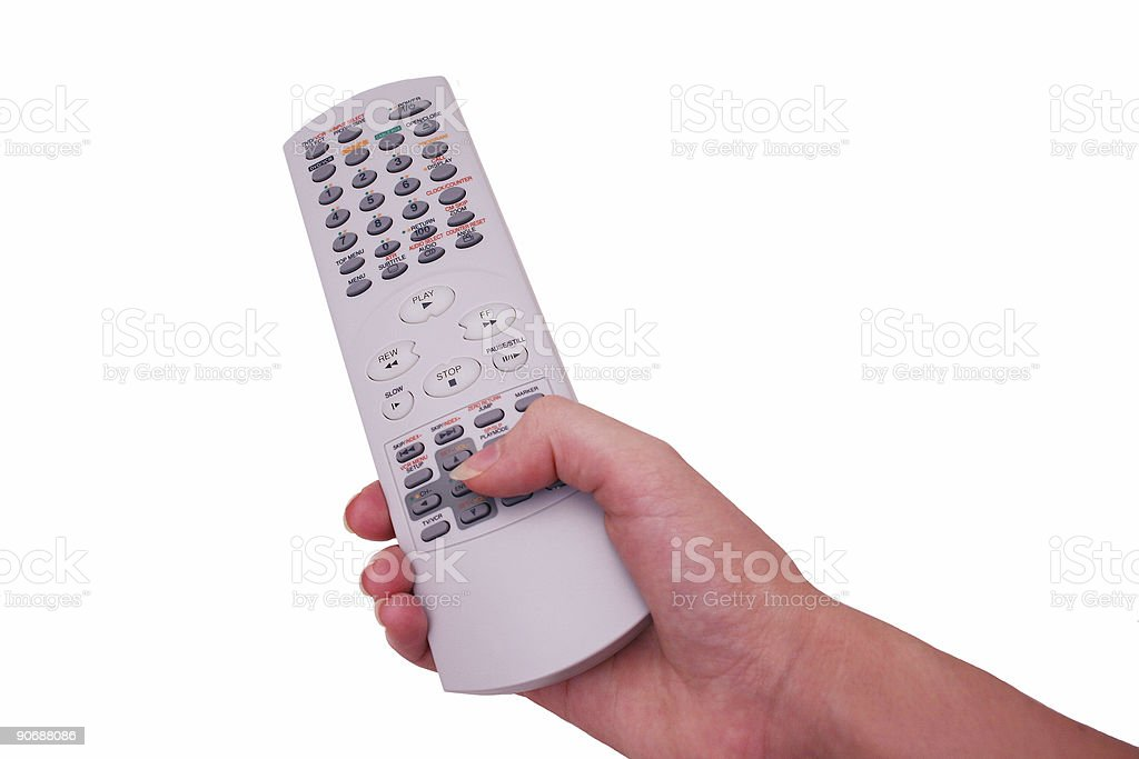 Channel Surfing 2 stock photo