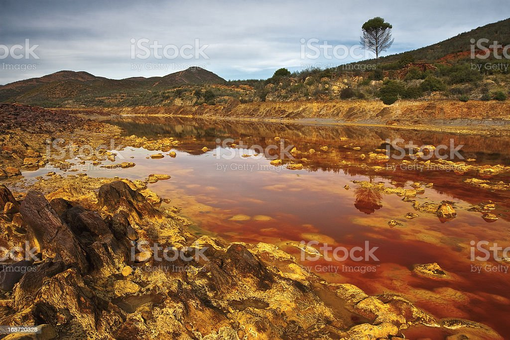 channel Tito River royalty-free stock photo