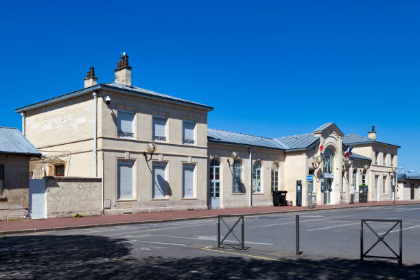 Chantilly-Gouvieux railway station stock photo