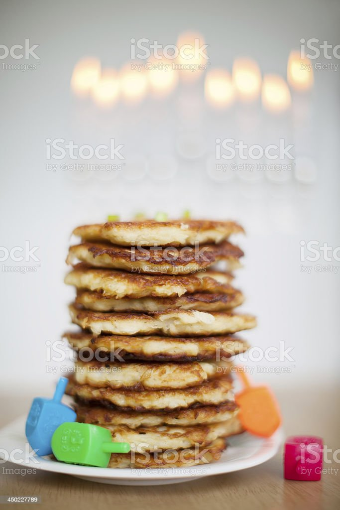 Chanukah stock photo