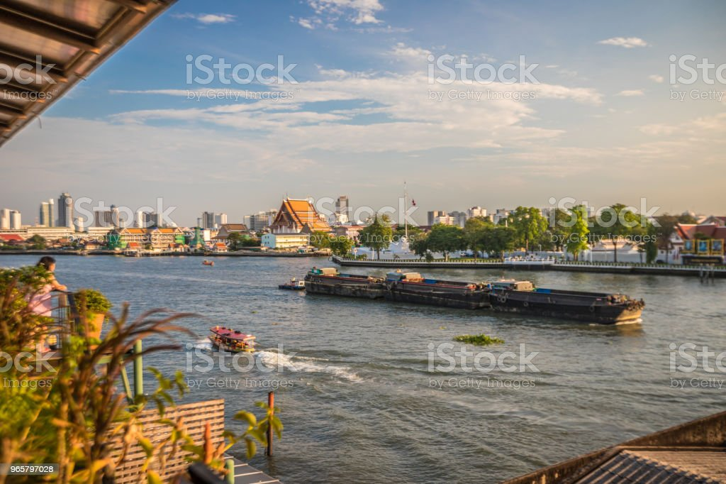 Chao Phraya River in Bangkok - Royalty-free Asia Stock Photo