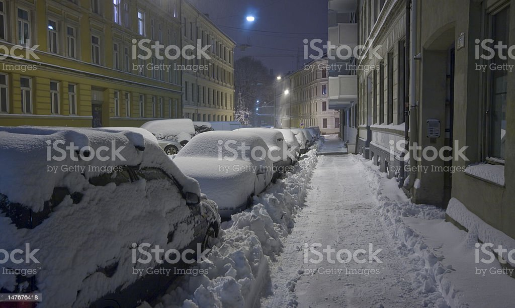 Chaotic in Oslo royalty-free stock photo