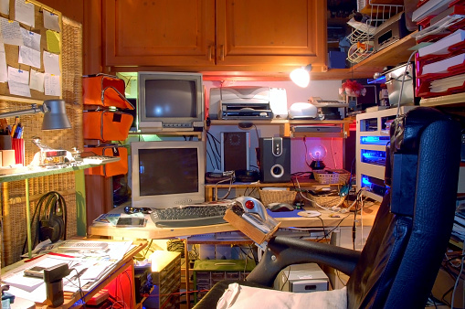 Chaotic Technological Private Working Place
