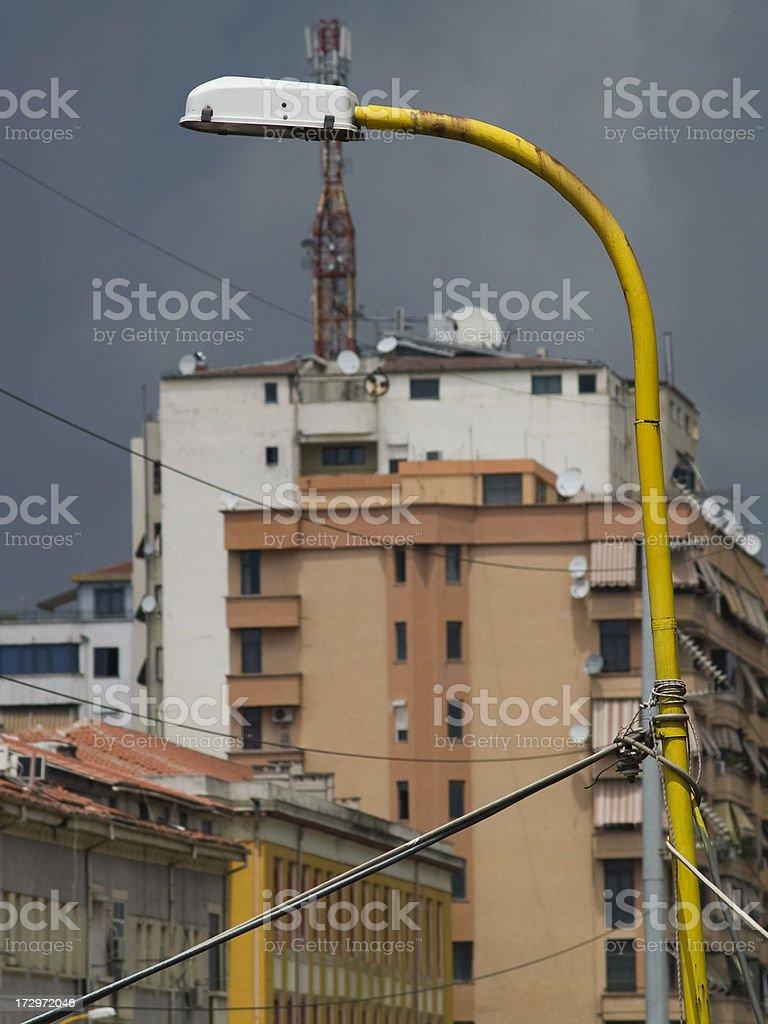Chaotic urbanization royalty-free stock photo