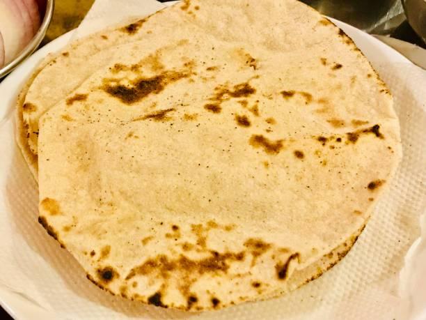 Chapati stock photo