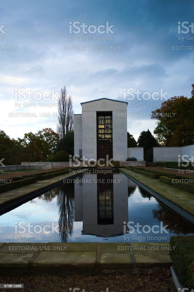 Chapel and Memorial Hall stock photo