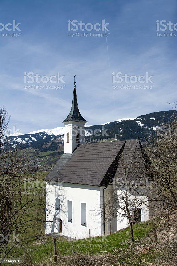 Chapel at the Castle Kaprun, Pinzgau, Austria stock photo