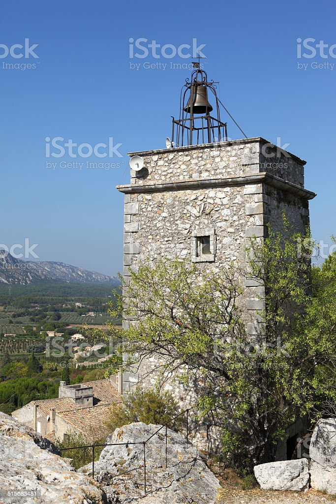 Chapel in Eygalières, France stock photo