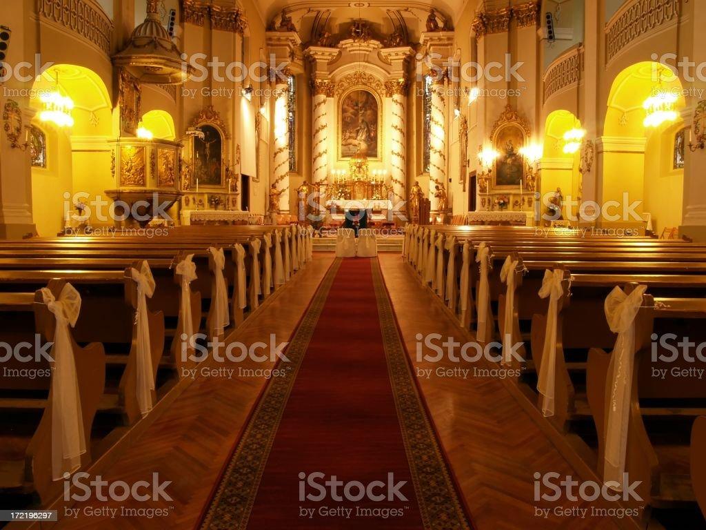 Chapel interior royalty-free stock photo