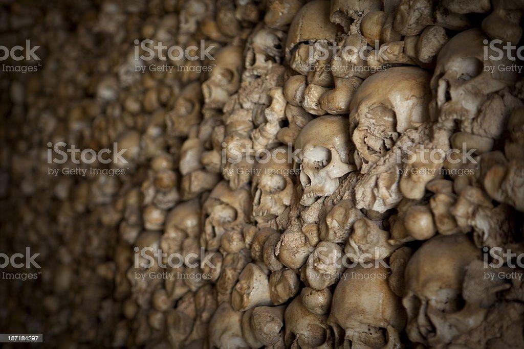 Chapel of Bones in Alcantarilha Portugal stock photo