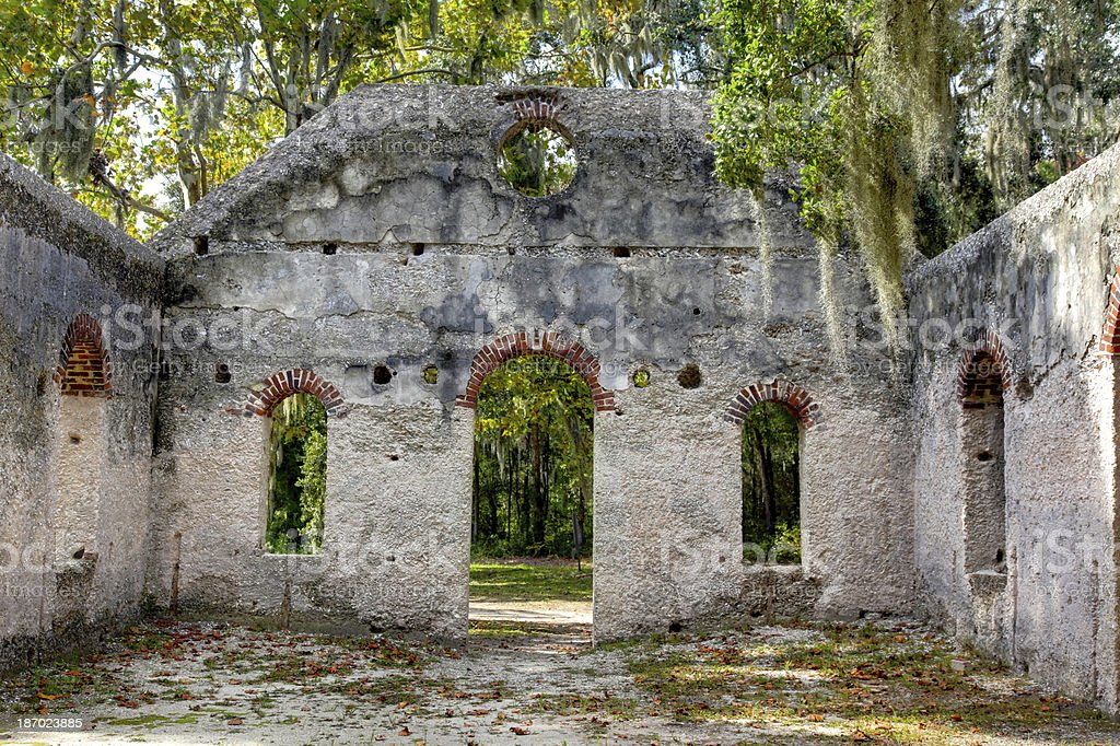Chapel of Ease Ruins royalty-free stock photo