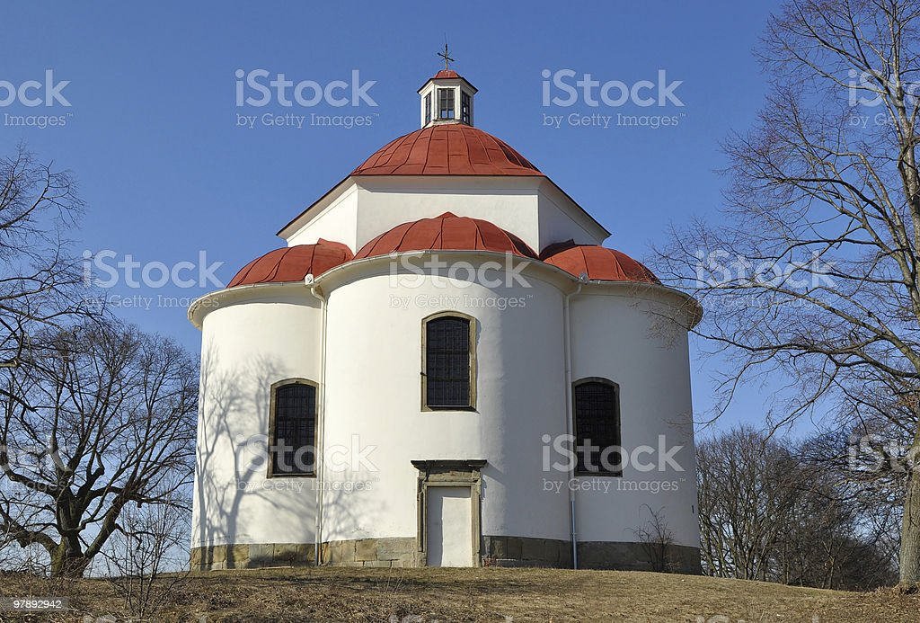 chapel of Holy Trinity in Rosice,Czech rep. royalty-free stock photo
