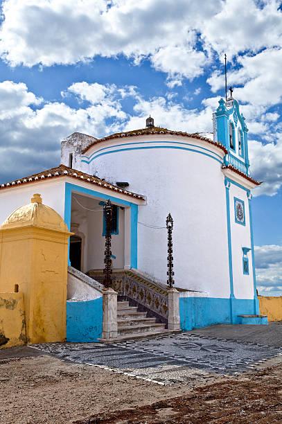 capela de nossa senhora da conceição em elvas, portugal - portalegre imagens e fotografias de stock