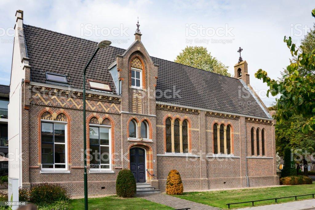 kapel van de oude Sint Fransiscus klooster in Haaren, Nederland foto