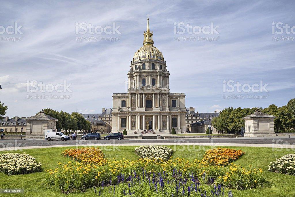 Chapel of Saint Louis des Invalides stock photo