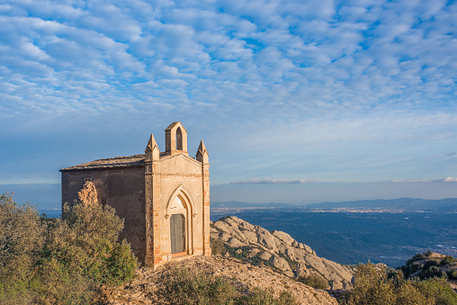 Chapel of Sant Joan, Montserrat, Catalonia, Spain