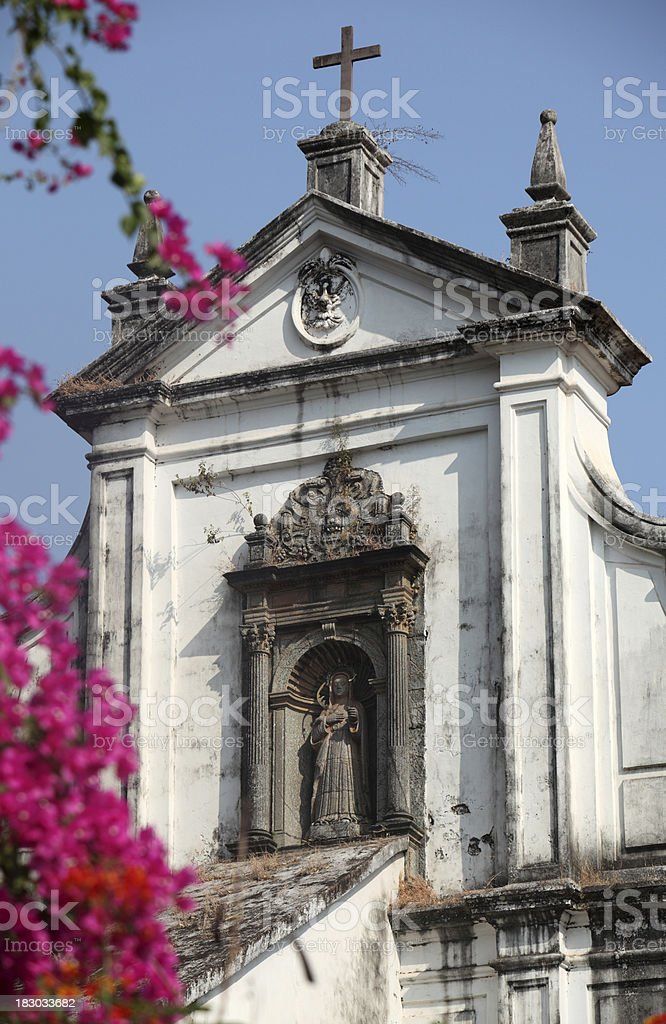 Chapel of St. Anthony in Old Goa royalty-free stock photo