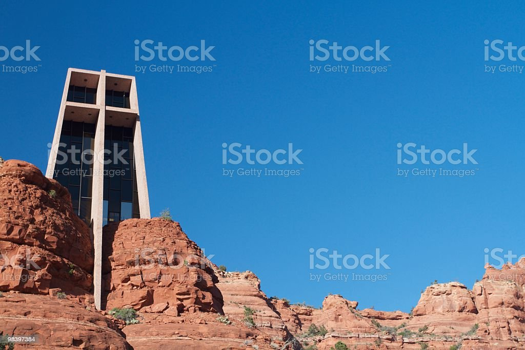 Chapel of the Holy Cross royalty-free stock photo