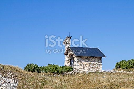 istock chapel on Monte Altissimo 893444768