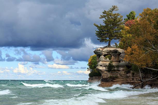 Chapel Rock and Lake Superior - Upper Peninsula of Michigan