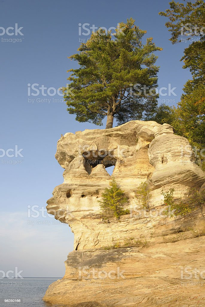Chapel Rock royalty-free stock photo
